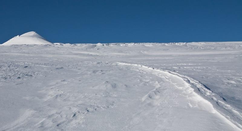 track snow pack
