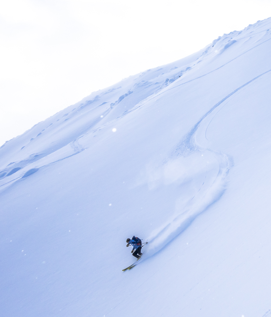 Yukon Backcountry Claude bakan ZAGSKIS