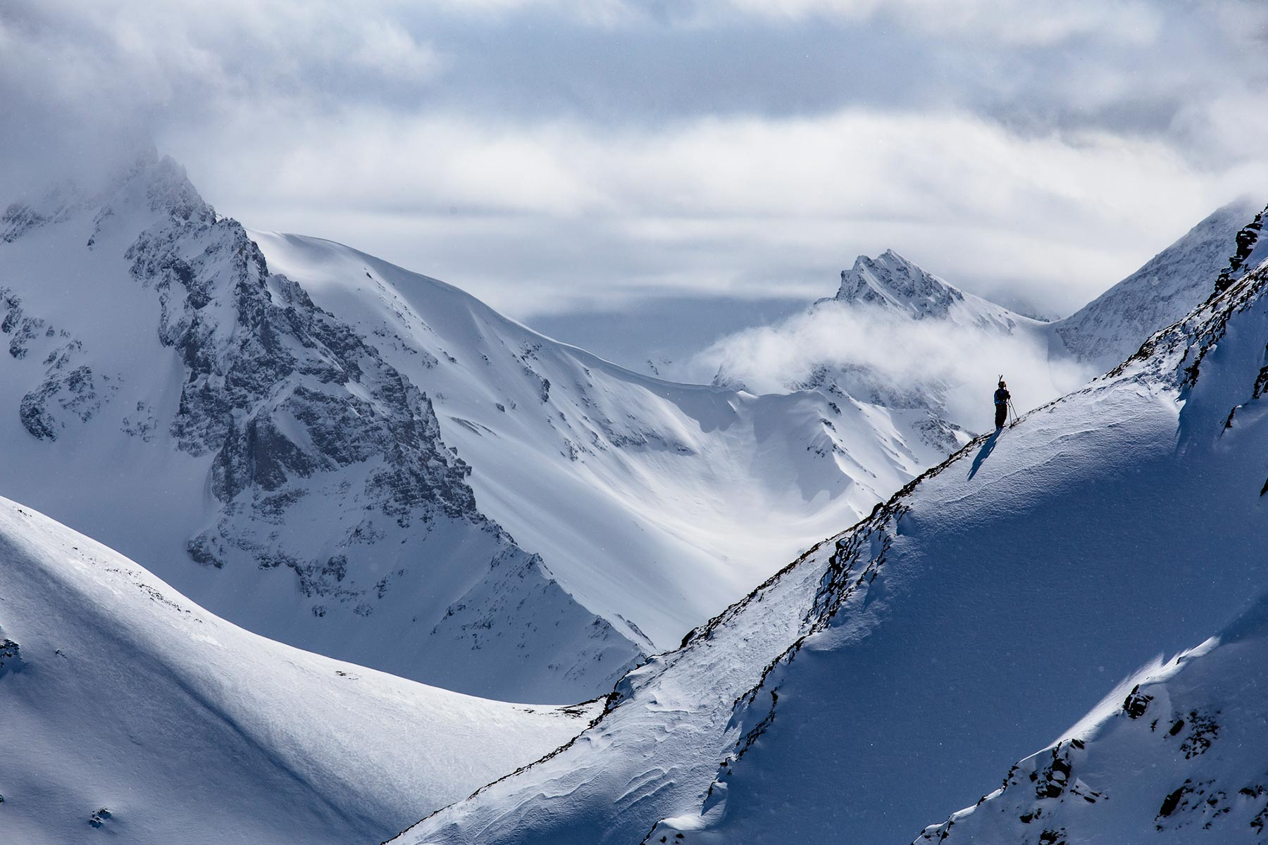 Yukon Backcountry Skiing