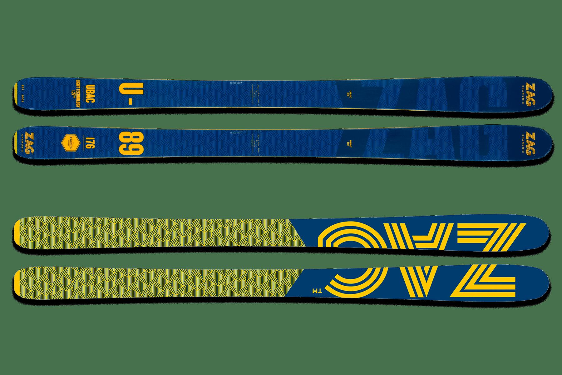 skis ZAG U89