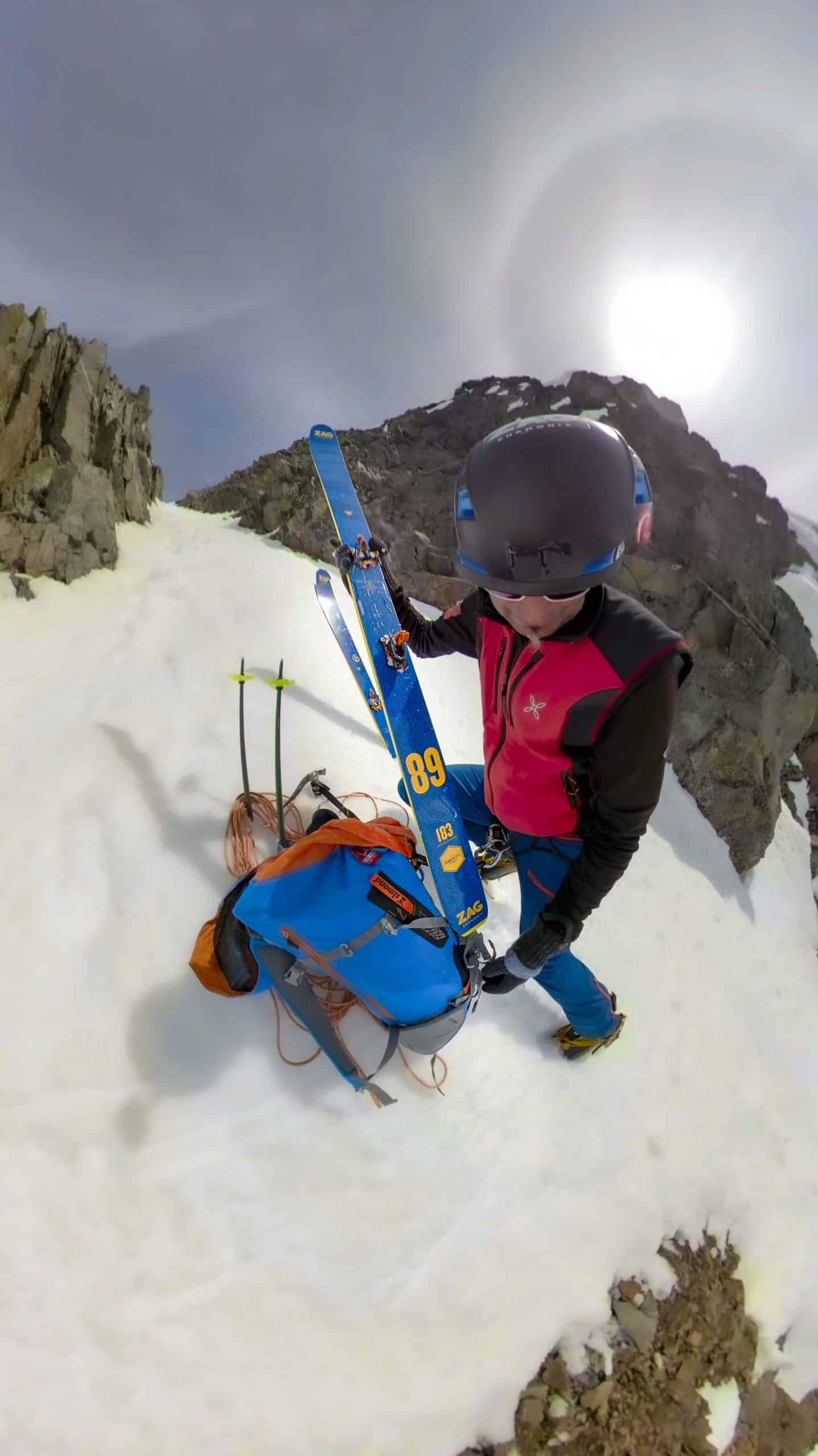 ZAG U89, a great mountain ski.